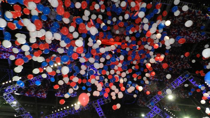 Here come the balloons