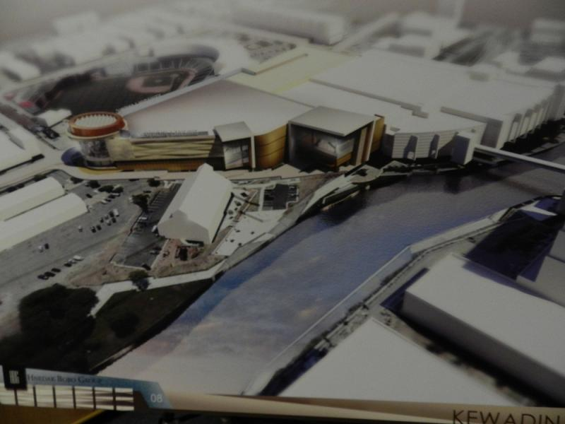 Artist's conception of proposed Kewadin Lansing casino
