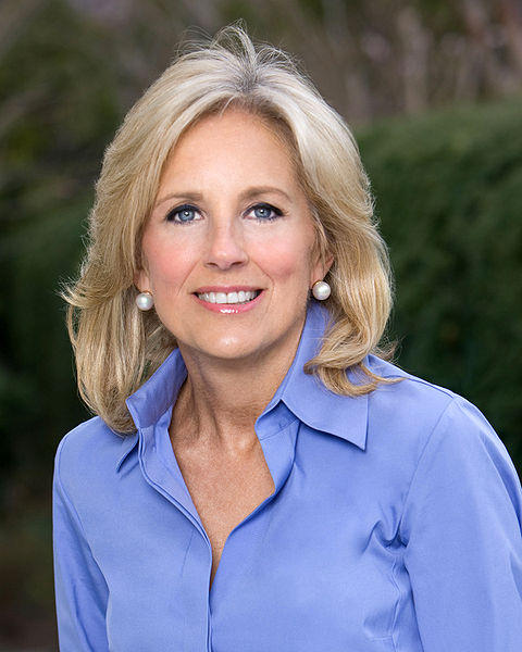 Jill Biden, wife of Vice President Joe Biden