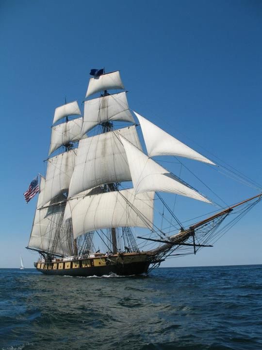 Birg Niagara. The tall ship can be seen during the Bicentennial of the War of 1812 celebration in Detroit Sept. 4-10, 2012. The ship will be outside the GM Ren Cen.