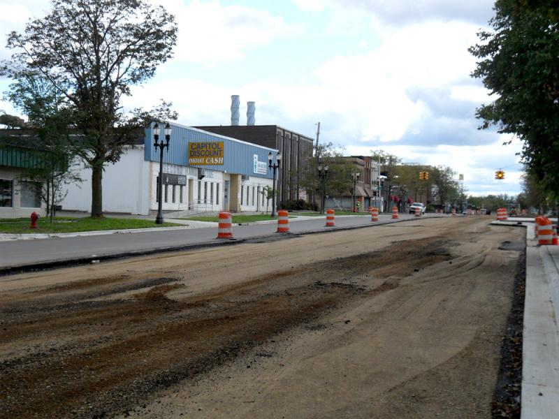 REO Town's is undergoing a makeover to help make it more walkable and bikeable.