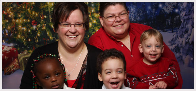April DeBoer is suing the state over the same-sex marriage and adoption ban.