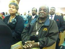 Some 200 residents, mostly African American, came to the forum held in a church near downtown Saginaw.