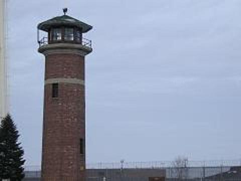 A guard tower at one of the state prisons located in Jackson, Michigan (file photo)