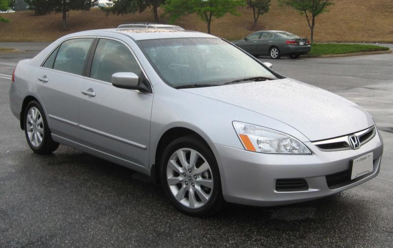 2006-2007 Honda Accord. One of the models included in the recall.
