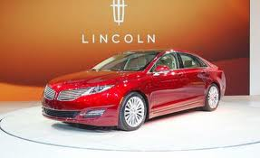 The new Lincoln (Motor Company?) MKZ