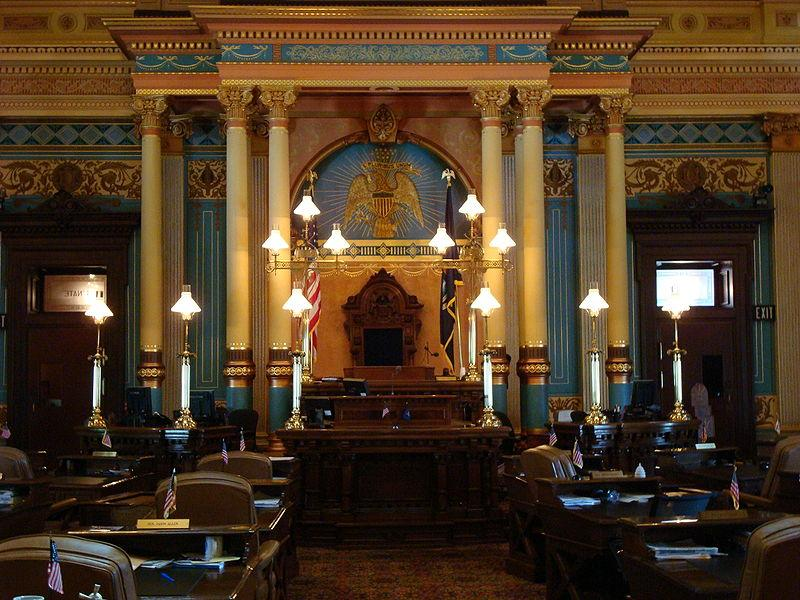 Senate Chamber, Michigan State Capitol