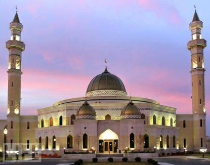 The Islamic Center of America in Dearborn, MI.