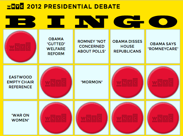 Keep the blood pressure down, play some Bingo tonight.