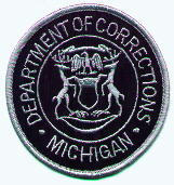 Michigan Department of Corrections badge
