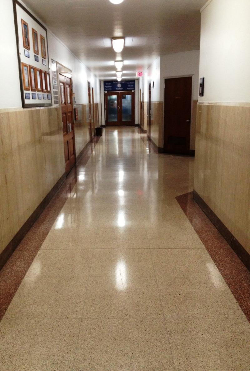Pontiac City Hall are pretty empty since emergency managers began their work.