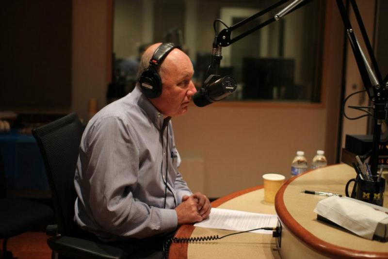 Pete Hoekstra in Studio East at Michigan Radio
