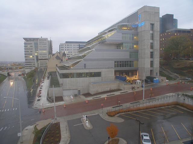 "The Van Andel Institute is on Grand Rapids' ""medical mile""."