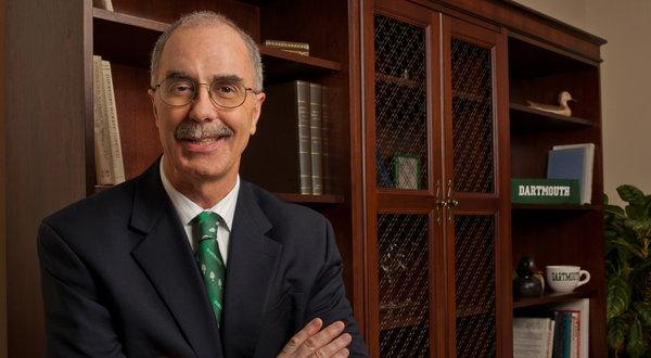 Philip Hanlon - the University of Michigan provost, will become president of Dartmouth next year.