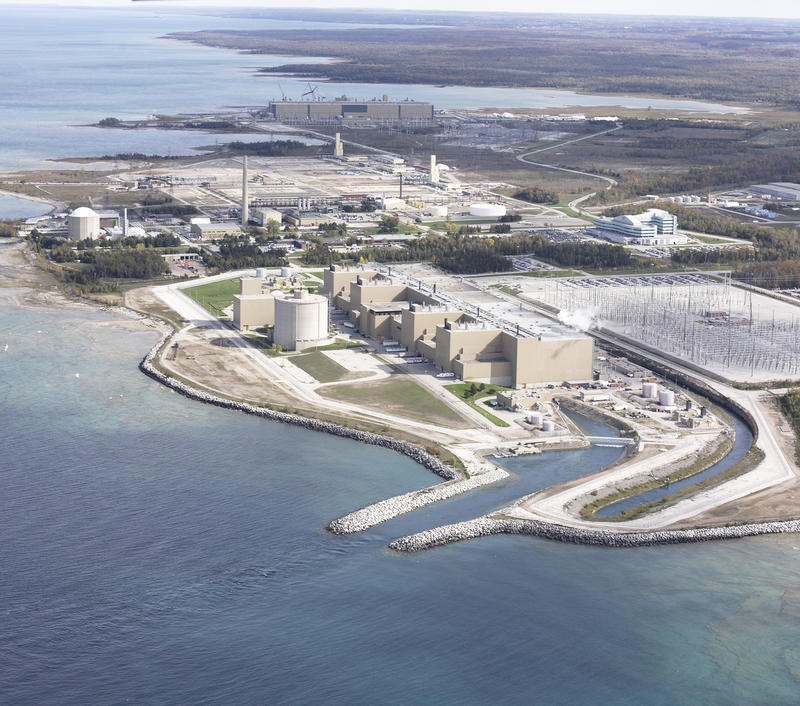 The Bruce Nuclear Power Plant