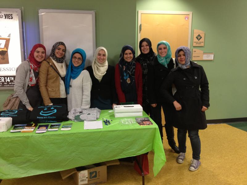 Participants at this year's Hijab Day gathering