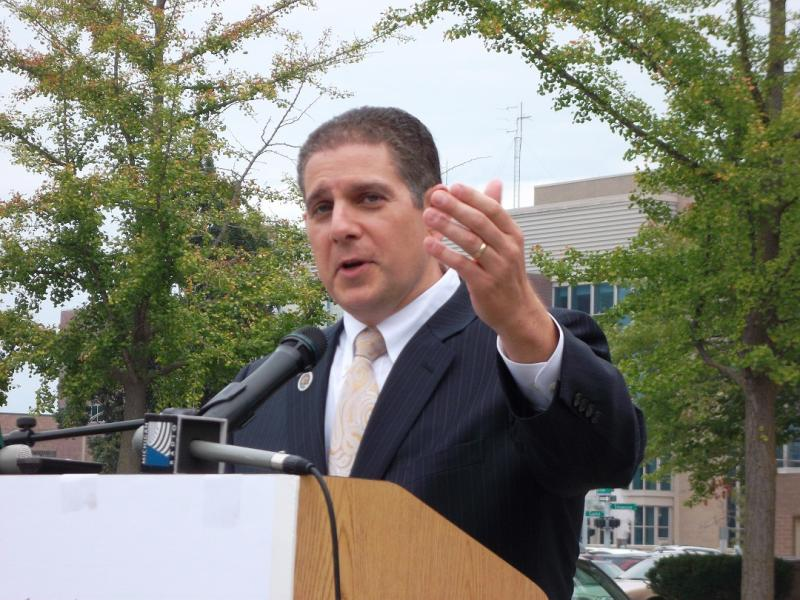 Lansing mayor Virg Bernero (file photo)