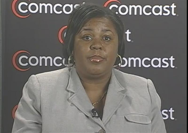 Shaton Berry speaking about the PSTA in Comcast announcement
