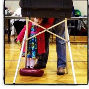 Waiting for a voting parent in Michigan.