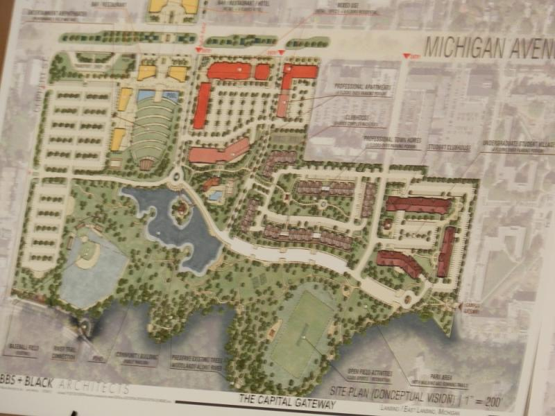 Developers have ideas for the property on Lansing's east side, but voters must approve selling the park's remaining 48 acres Tuesday