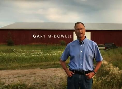 Gary McDowell conceded the election for Michigan's 1st Congressional District last night.