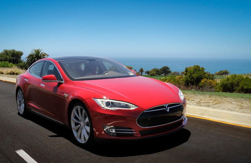 The Tesla Model S goes for about $50,000 base price.