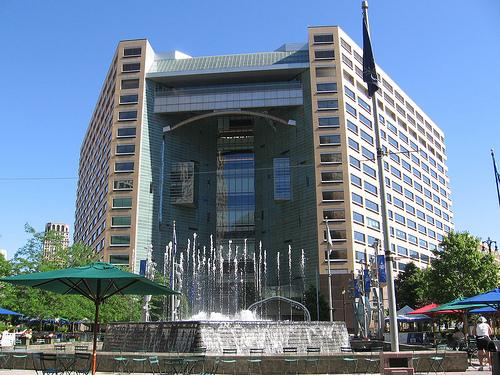 Compuware's downtown Detroit headquarters.