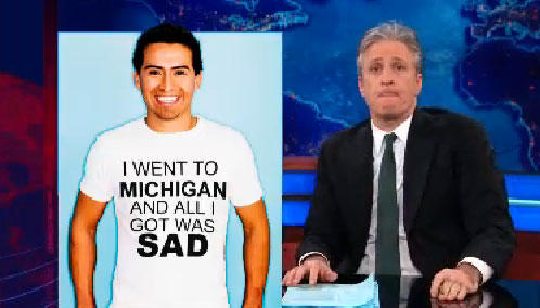 One of the common ground things Michiganders want and need. A better slogan.