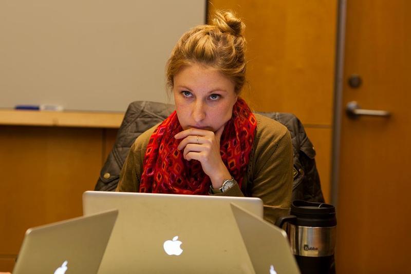 Former UofM Social Media Director, Jordan Miller. She resigned yesterday amid complaints that she falsified her application.