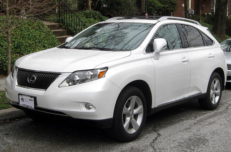 Floor mat pedal entrapment in the Lexus RX35 led to a recall and Toyota's most recent fine.