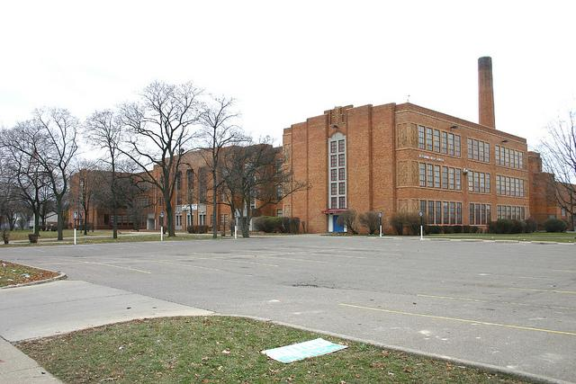 "Pershing High School in Detroit was one of the 238 schools that had zero ""college-ready"" students based on the 2010 Michigan Merit Exam."