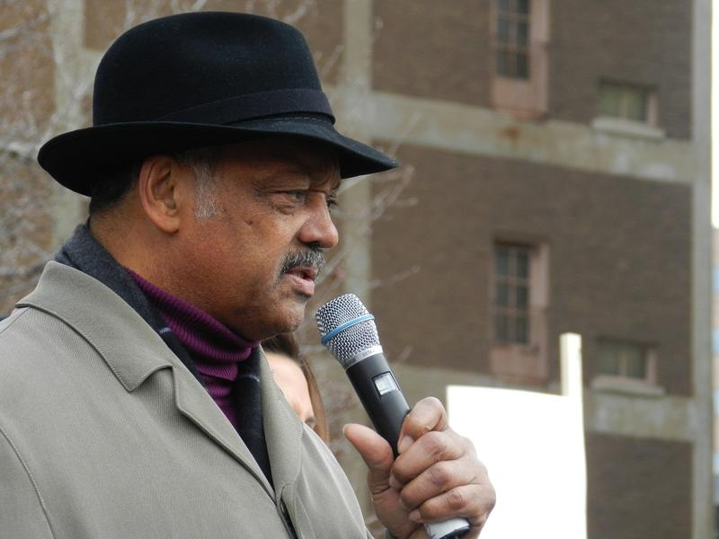The Rev. Jesse Jackson called for a one-day strike after the bills passed the Michigan Legislature.