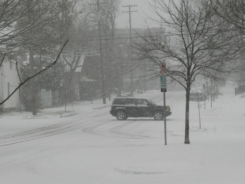 Ann Arbor picked up more than 6 inches of snow in Wednesday's storm