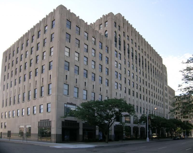 The current home of the Albert Kahn Family of Companies: the Albert Kahn Building (1931)