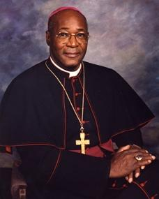 Retired auxiliary Bishop Moses B. Anderson