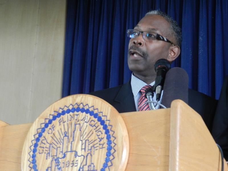 Former Flint Public Safety Administrator Barnett Jones (file photo)