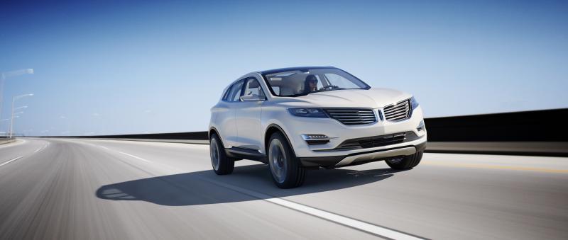 The Lincoln MKC concept.