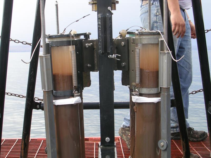 The team took sediment samples from eight lakes in Minnesota: Lake Pepin, Lake St. Croix, Lake Winona, East Lake Gemini, Lake Shagawa, Duluth Harbor, Lake Superior, and Little Wilson Lake.