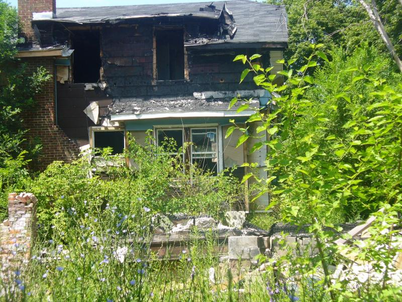 Blighted home in Flint, Michigan (file photo)
