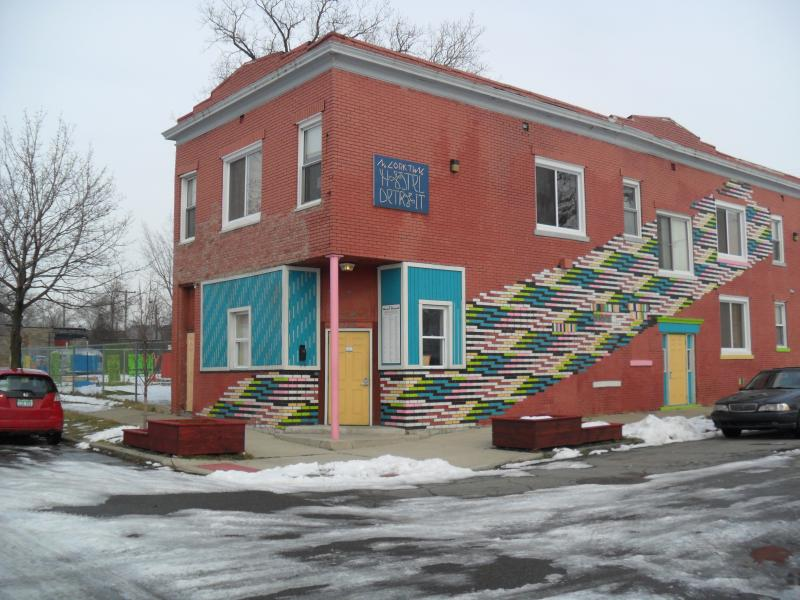 Hostel Detroit is located in Corktown, Detroit