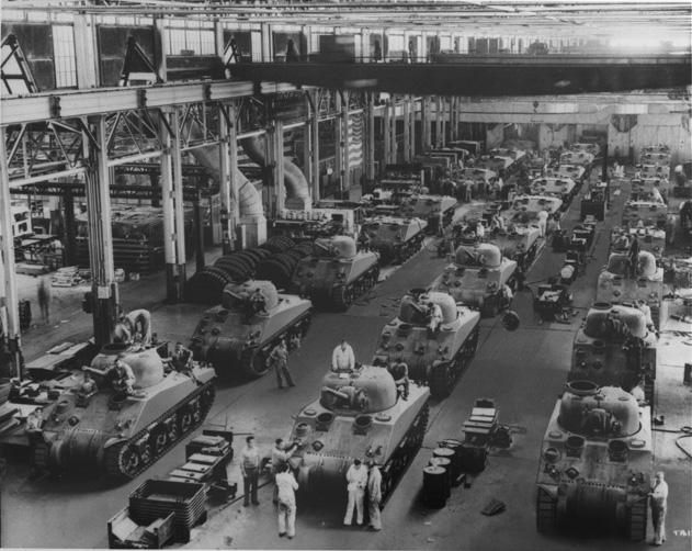 The Detroit Arsenal Tank Plant (1940)