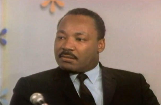 Rev. Dr. Martin Luther King on the Mike Douglas Show in 1968, five months before he was killed.