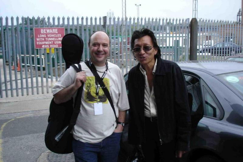 Sixto Rodriguez (right) and the man who discovered him, Stephen 'Sugarman' Segerman.
