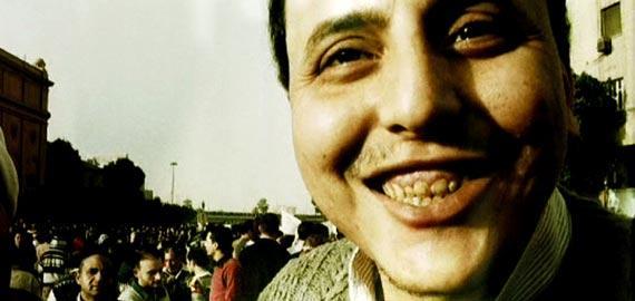 """Still from """"1/2 Revolution"""" a film screening at the Arab Film Festival."""