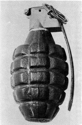 Mk 2 Grenade from World War II