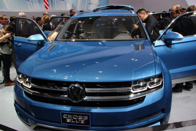 "VW execs say it won't be introduced in the U.S. for a ""number of years."""
