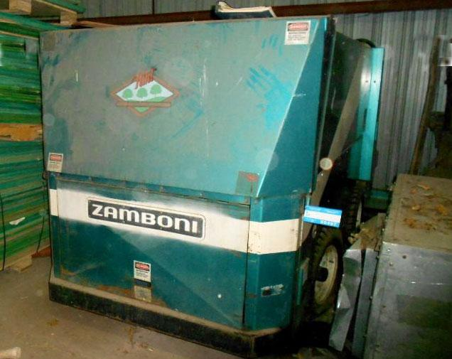 Flint's gas-powered Zamboni is up for bids.
