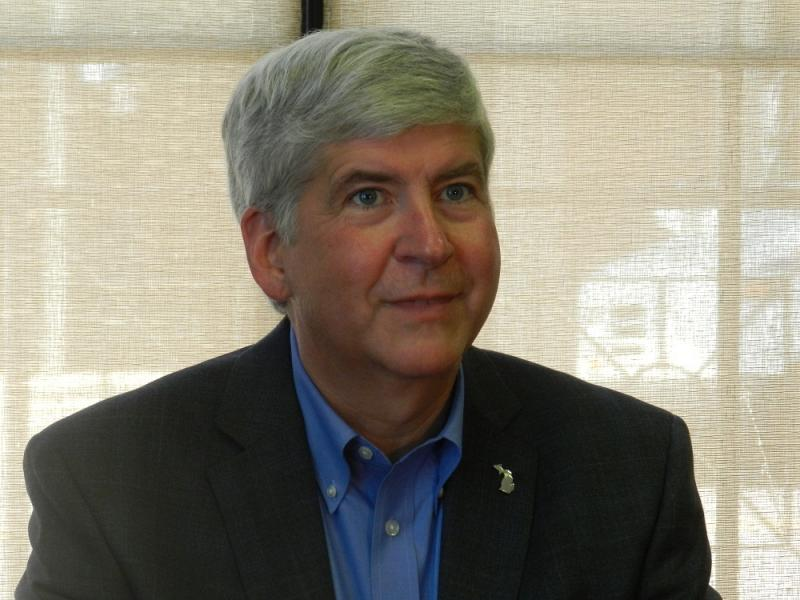 Michigan Gov. Rick Snyder (file photo)