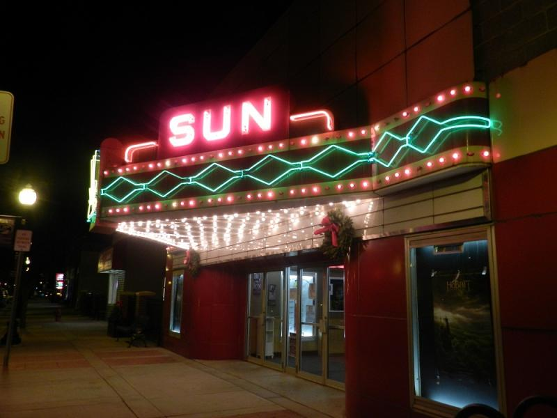 The Sun Theater in Williamston is one of a dwindling number of small, neighborhood movie houses
