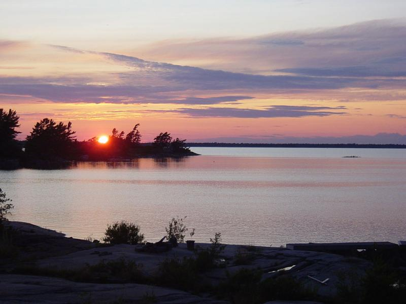 Sunset over Georgian Bay